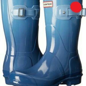 ISO Blue Tarp Haze Hunter Boots